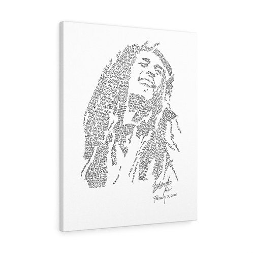 Bob Marley Canvas Gallery Wraps