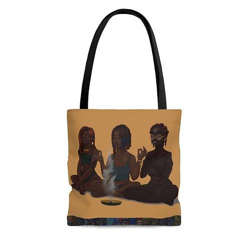 My Girls and My Spirituality Tote Bag