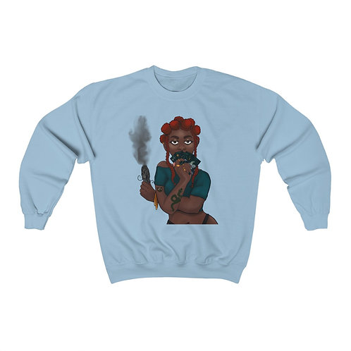 Bad Gyal  Heavy Blend™ Crewneck Sweatshirt