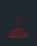 Ziggurat Rocket Sun Icon