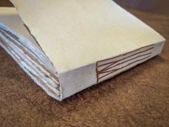 Handbound Leather sketchbook
