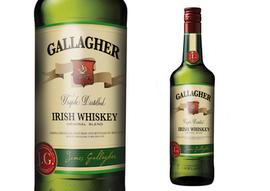 Gallagher Irish Whiskey Label
