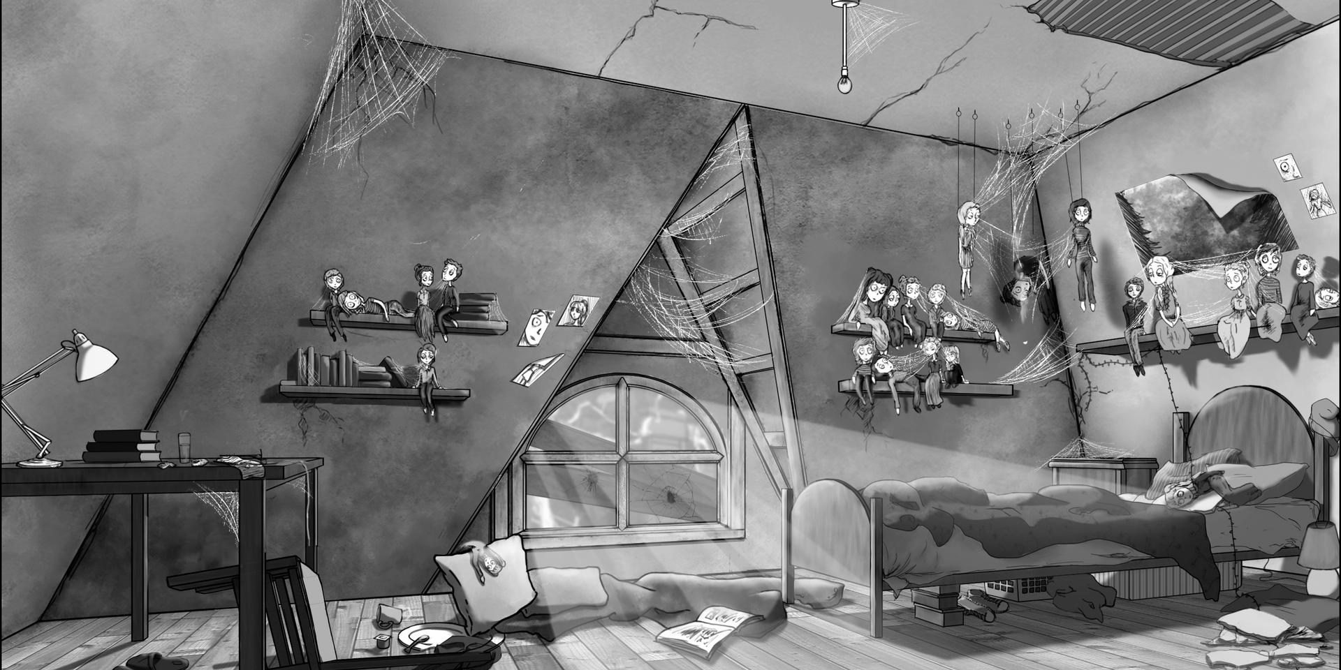 Mary's Bedroom Visual - 2017