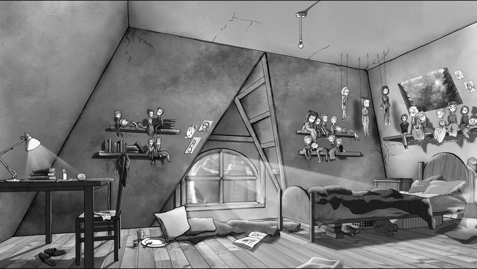 Mary's Bedroom Visual - 1980s