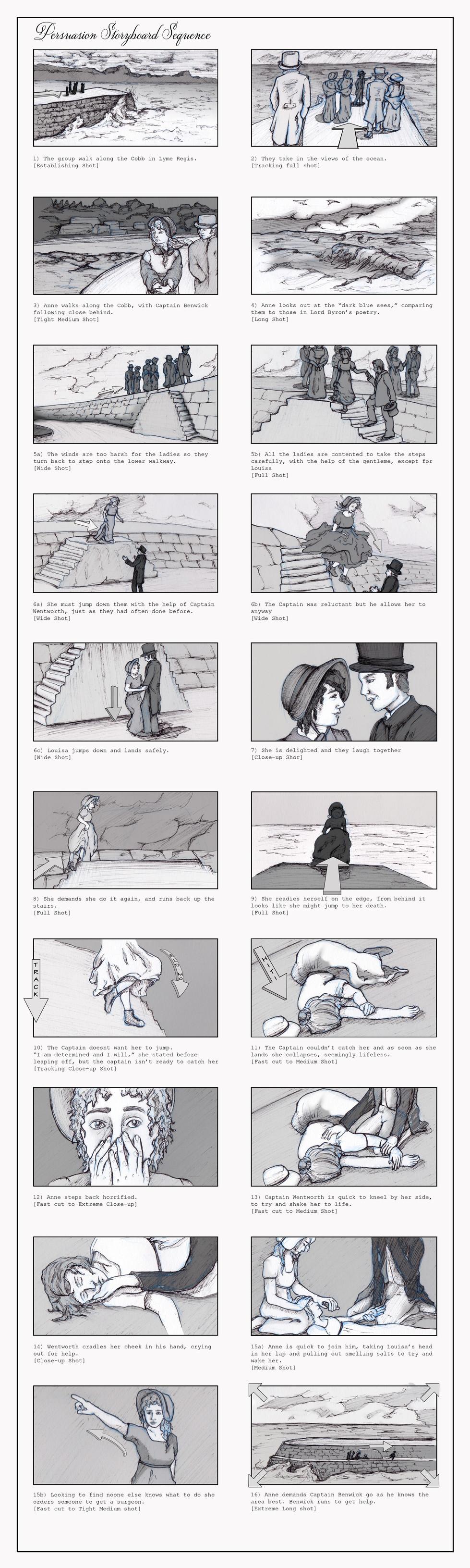 Persuasion - Lyme Regis Sequence