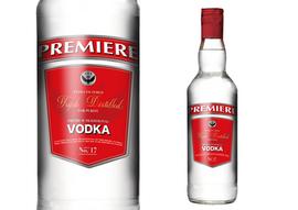 Premiere Vodka Label