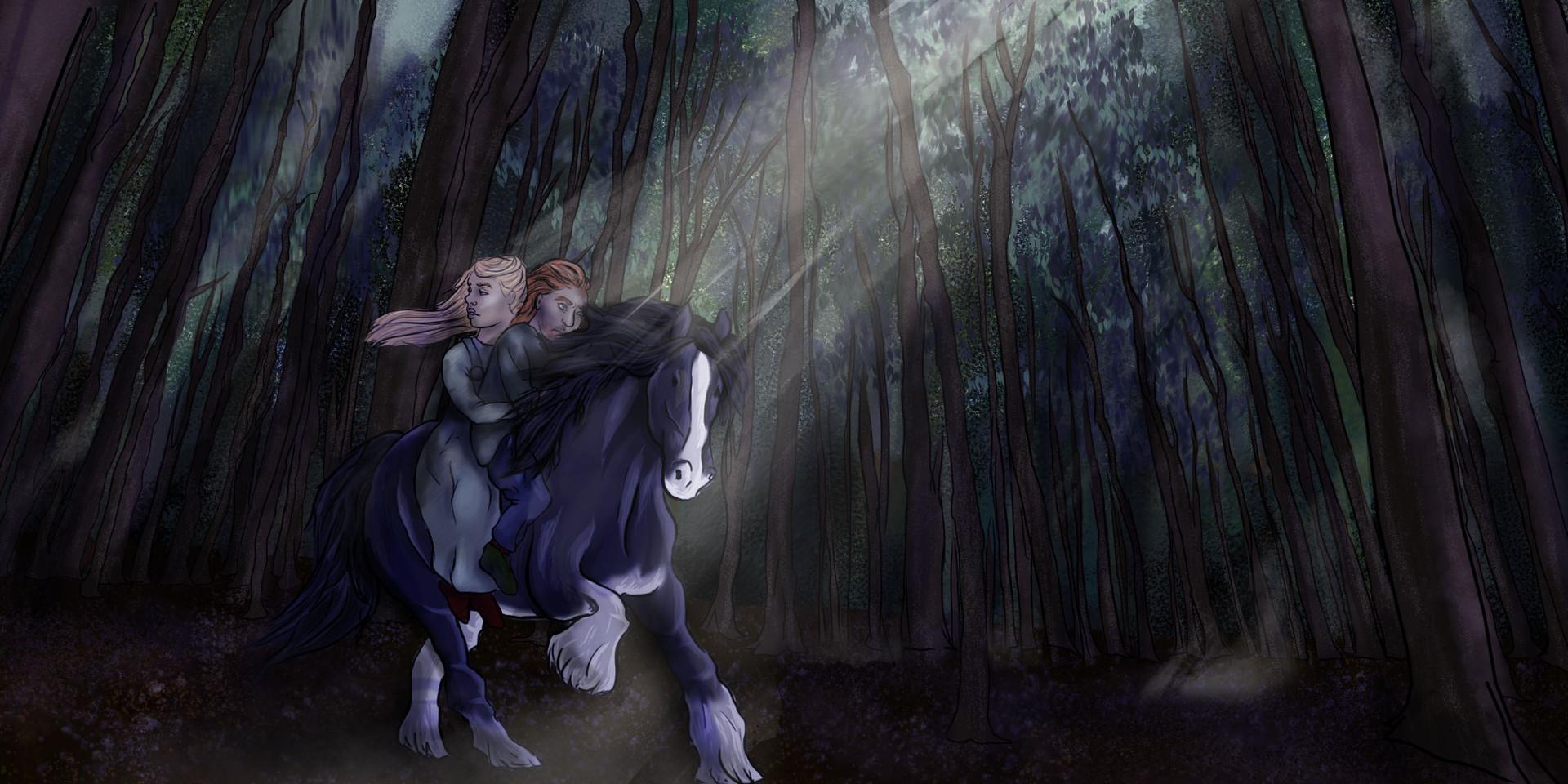 Blood Wedding Forest Visual