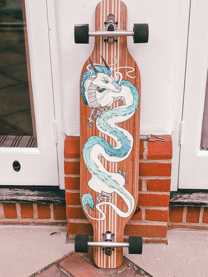 'Spirited Away' Longboard Design