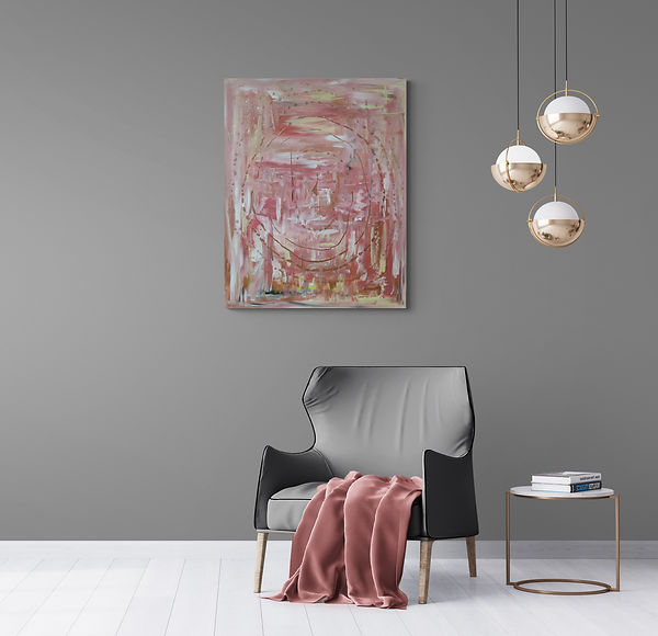 Modern_lounge_with_velvet_armchair_and_s