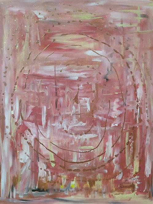 Ritual De Danza 80 x 100 cm