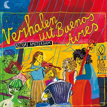 """CD """"Verhalen uit Buenos Aires"""""""