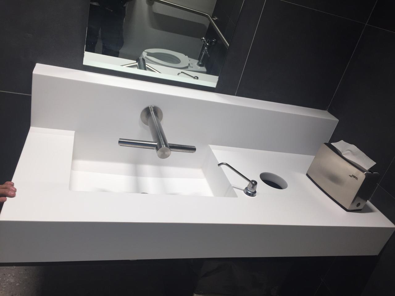 lavabo blanco Hanex
