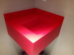 lavabo rojo