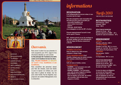 Programme Shangpa LA Boulaye