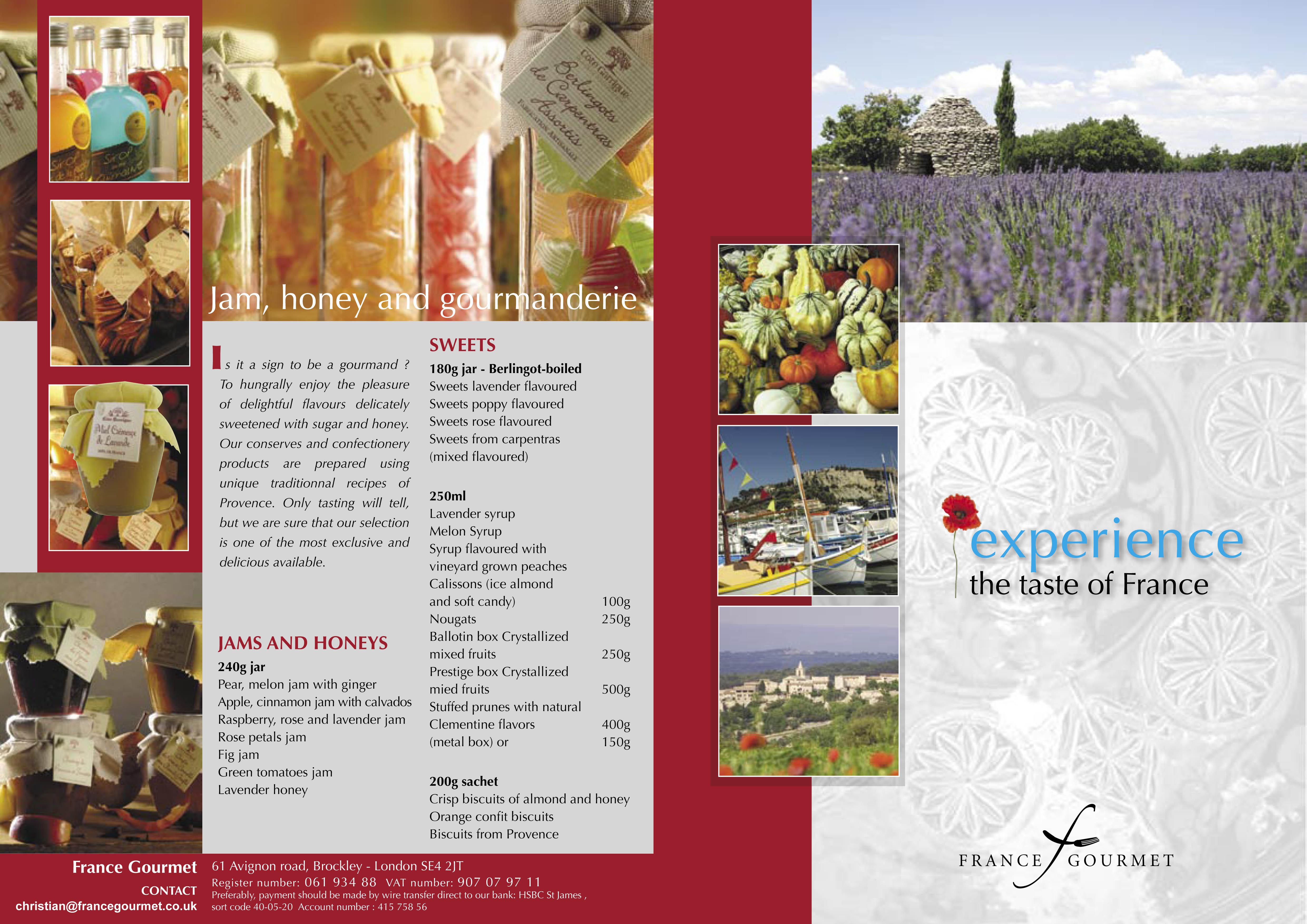 Catalogue France-Gourmet