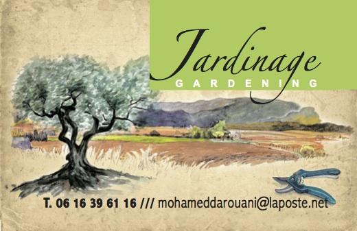 Carte de visite Gardening