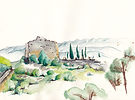 Aquarelle de Corinne Marion pour Kilycom studio