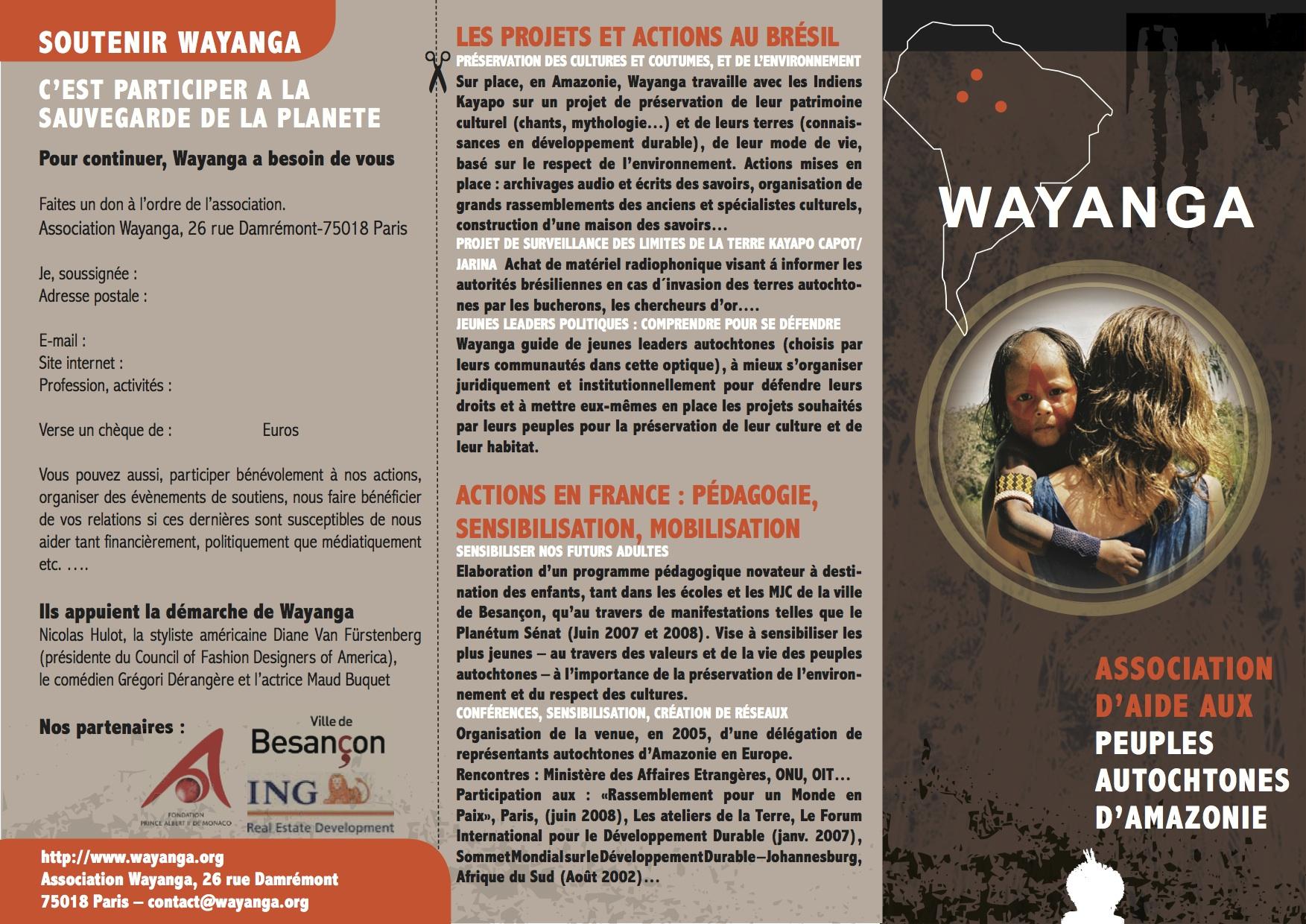 Flyer WAYANGA-2010