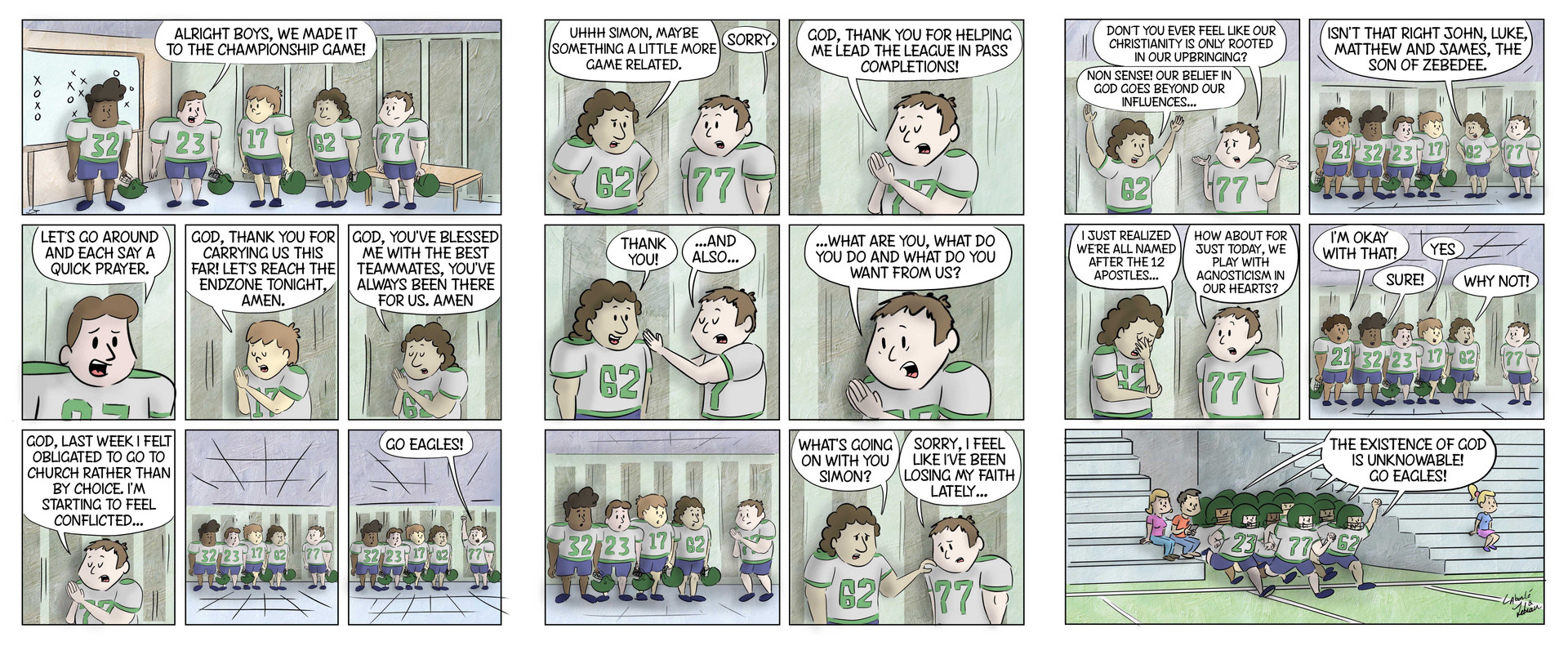 The Football Prayer