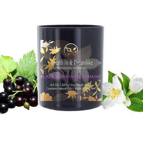 8.5 oz Black Currant & Jasmine Candle