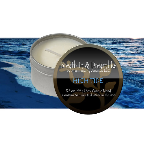 3.5 oz High Tide Travel Candle