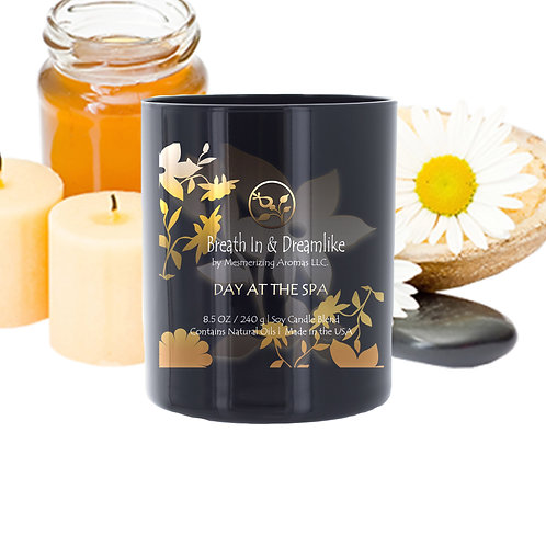 8.5 oz Day at the Spa Candle