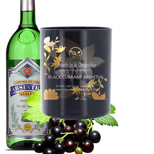 8.5 oz Black Currant Absinthe Candle