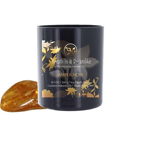 8.5 oz Amber Noir Candle