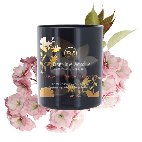 8.5 oz Japanese Cherry Blossom Candle