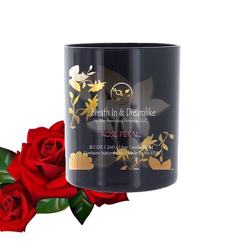8.5 oz Rose Petals Candle