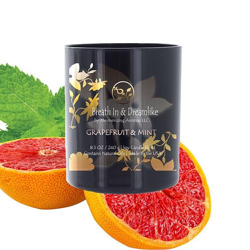 8.5 oz Grapefruit & Mint Candle
