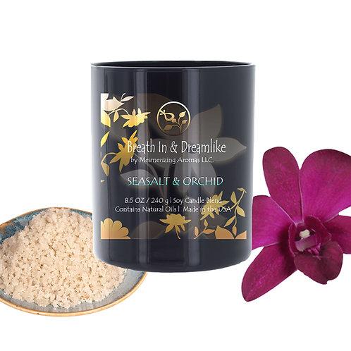8.5 oz Sea Salt & Orchid Candle