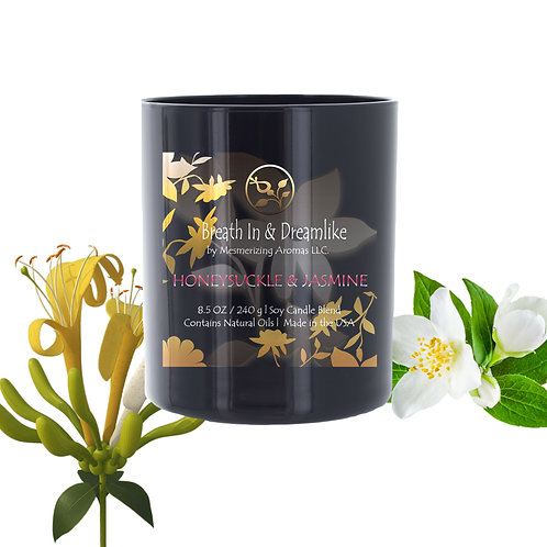 8.5 oz Honeysuckle Jasmine Candle