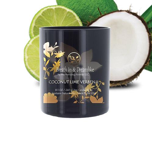 8.5 oz Coconut Lime Verbena Candle
