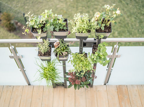 Balkon Pflanzsystem VEGA, Vertikal Garden