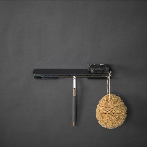 Duschablage PRI, schwarz, matt