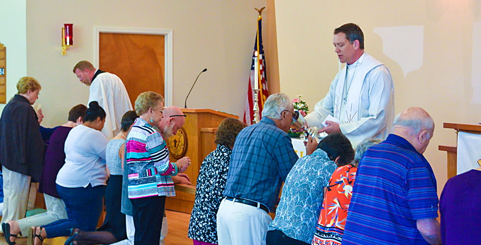 Communion at Christ Lutheran Church