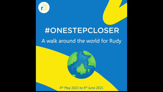 """Words of Encouragement for """"A Walk Around the World for Rudy"""""""