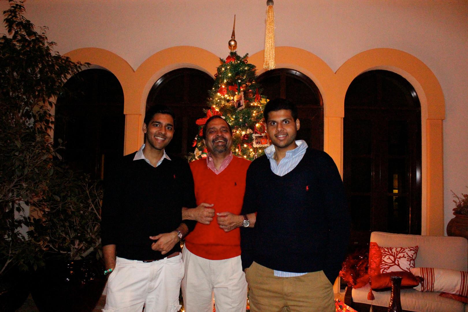 Dad & his boys- xmas.JPG