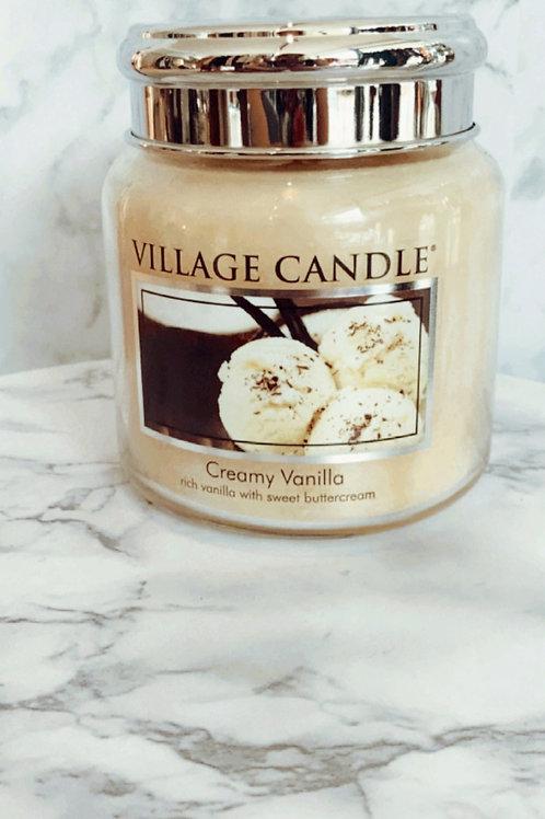 Village Candle - Creamy Vanilla (Medium)