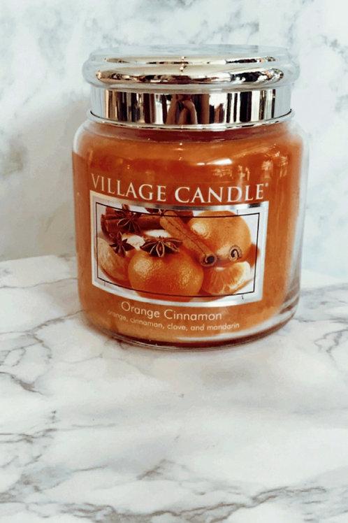 Village Candle - Orange Cinnamon (Medium)