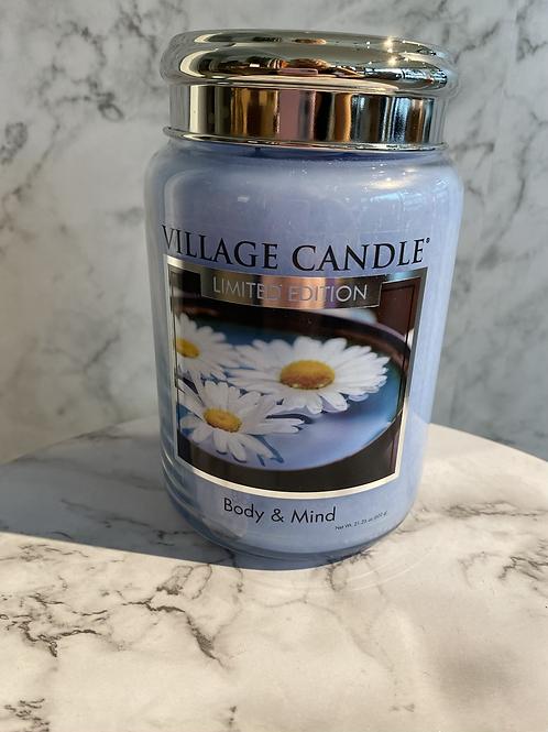 Village Candle-Body & Mind (LARGE)