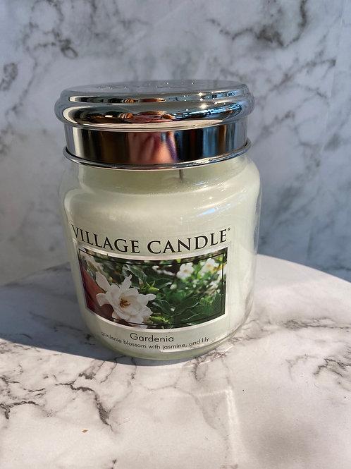 Village Candle-Gardenia (MEDIUM)
