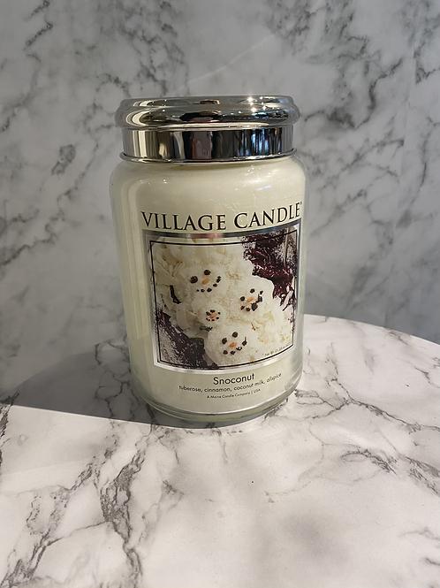 Village Candle-Snoconut (limited edition) (LARGE)
