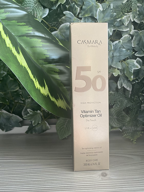 Casmara tan optimizer oil SPF50