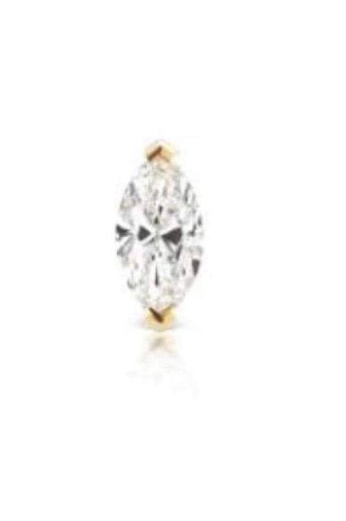 Single Diamond Piercing