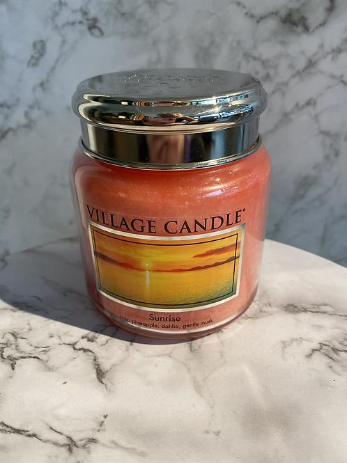 Village Candle-Sunrise (MEDIUM)