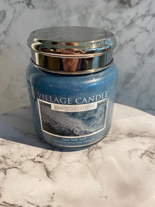 Village Candle-Sea Salt Surf (MEDIUM)