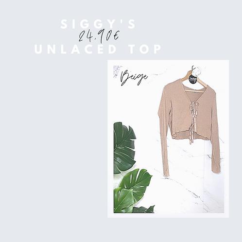 Siggy's unlaced top