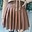 Thumbnail: Leather brown skirt